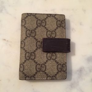 Gucci GG Canvas Multi Card Case